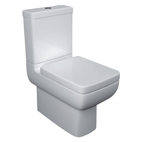 Options 600 Fully Back To Wall Close Coupled Toilet & Soft Close Seat